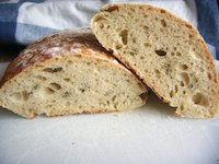 Sourdough Ancienne Bread With Thyme