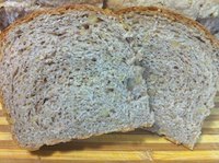 Maple Walnut Oat Bread