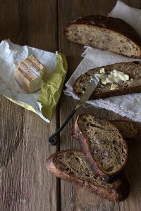 Sweet Potato Sourdough With Walnuts