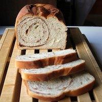Cinnamon Cereal Swirl Bread