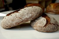 Rye Bread With Altus And Rye Flakes