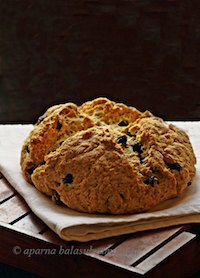 Spotted Dog-Irish Soda Bread