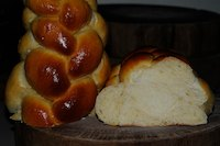 Challah With Ginger Syrup