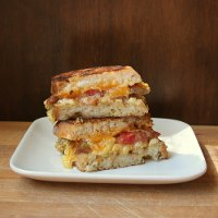 The Grilled Cheese Breakfast Sandwich