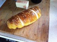 Pretzel Wrapped Sausages