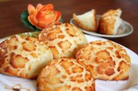 Eggless Tiger / Giraffe Bread