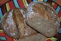 Espresso Smoked Onion Sourdough Bread