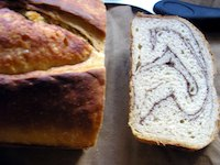 Marbled Sourdough Bread