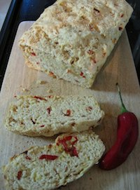 Red Chilli And Sweet Caramelised Onion Loaf