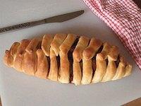 Braided Apple Bread