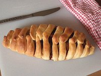Braided Apple Bread