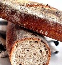 Rustic Sourdough Baguette Hamelman's Style