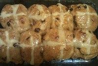Sourdough Hot Cross Buns