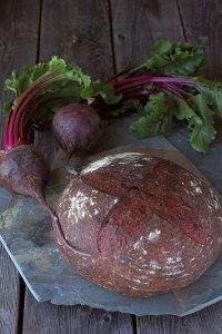 Sourdough Beet Bread
