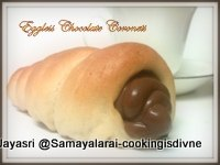 Eggless Chocolate Coronets