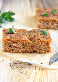 Whole Wheat Focaccia