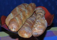French Baguettes With Quinoa Flour