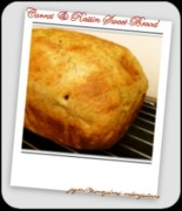 Carrot & Raisin Sweet Bread