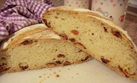 Mediterranean Sun Dried Tomato Bread
