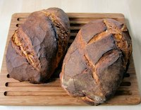 Rustikales Brot Nach Jeffrey Hamelman