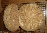 Pine Nuts Whole Wheat Sourdough Loaves