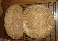 Pine Nuts Whole Wheat Sourdough Loaves