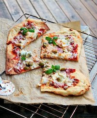 Grilled Cheese Pizza