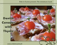 Danish Canapes With Thyme (Smoerrebroed)