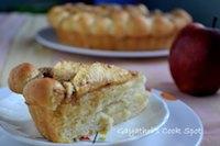 Eggless Yeasted Apple Sugar Tart