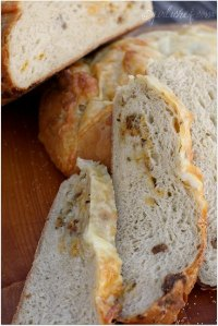 Cheesy Sausage & Beer Bread