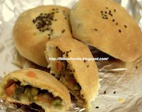 Stuffed Masala Buns
