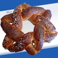Magen-David Shaped Challah