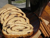 Cinnamon Swirl Raisin Bread
