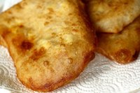 Deep-fried Cheese Flatbread