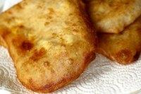 Deep-fried Cheese Flatbread