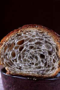 Sesame Croissant With Sourdough Starter