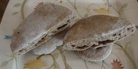 Whole Wheat Sourdough Pita Breads
