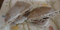 Whole Wheat Sourdough Pita Breads