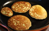 Sourdough Zuchinni Pancakes