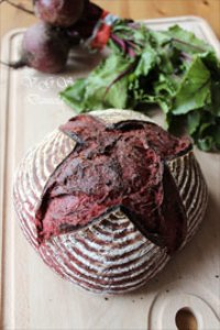 Sourdough Bread And Beetroot