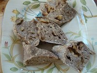 Millet And Apples Sourdough Triangles