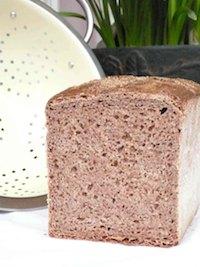 Spelt-Rye-Wheat 100% Whole Grain Bread