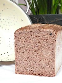 Spelt-Rye-Wheat 100% Whole Grain Bread