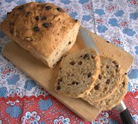 Almond, Raisin And Chcocolate Loaf