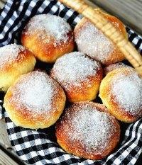 Sockerbullar Or Bomboloni Al Forno