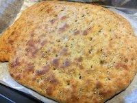 100% Wholemeal Rosemary Foccacia