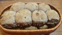 Spelt And Wheat Bread Rolls