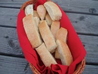 Sourdough Herb Breadsticks