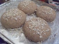 Simple Wholewheat Rolls