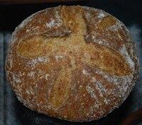 Sweet Potato Garlic Spelt Bread